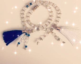 Tory Bracelet white pompon