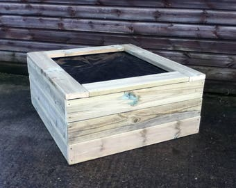 Wooden Garden Pond With Rubber Lining