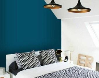 peinture murale autocollant etsy. Black Bedroom Furniture Sets. Home Design Ideas