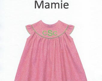Children's Corner Sewing Pattern #280 / MAMIE / Sizes 3 - 6