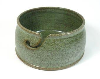 Handmade Stoneware Pottery Yarn Bowl