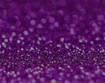 PURPLE BIO GLITTER - Biodegradable Glitter - Festival Glitter-  Eco Friendly - Mermaid Glitter - Cosmetic Grade - Compostable - 375 microns