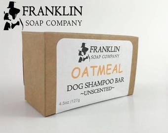 All Natural Dog Shampoo Bar I Dog Soap