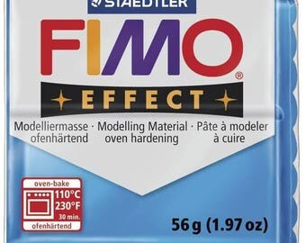 Polymer 57 g Effect 8020.374 - Fimo translucent blue