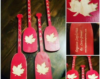 Canada Mini Paddles