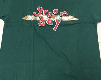 Vintage 1994 green day- dookie xl size