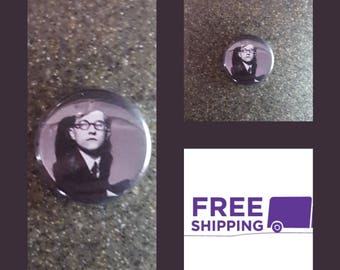 "1"" Shostakovich Portrait Button Pin or Magnet, FREE SHIPPING & Coupon Codes"
