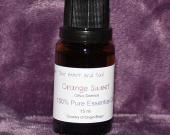 Essential Orange Oil 15ml