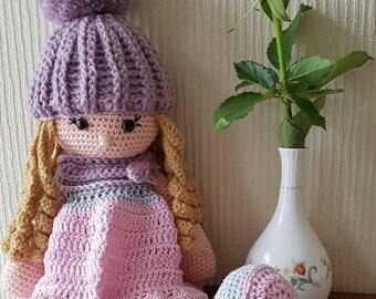 Hand Crocheted Amigurumi Doll