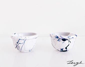 Purple and Blue Mini Bowls