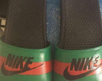 Nike Gucci Slides