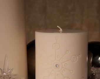 Handmade soybean candle