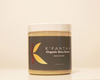 K'fantan Unrefined Shea Butter 250g