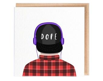 Dope! - Greeting Card - Blank Card - Birthday Card - Folio - thisisfolio - Stationery