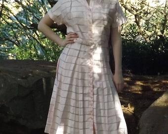 Vintage Deadstock 50s dress Toni Todd