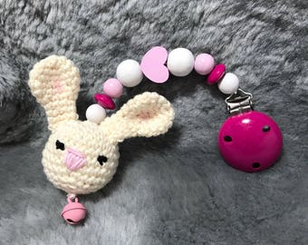 Cute Bunny Pendant for stroller and everywhere else