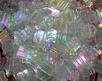 100 Tiles - Iridized Translucent Mix