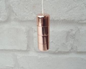 Copper Light Pull & Cord Bathroom Fan Switch Pull