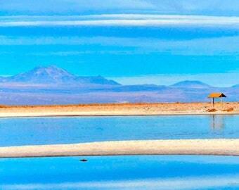Original fine art photography print -  Atacama Laguna Cejar