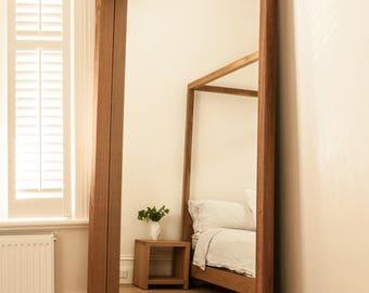 Free Standing Timber Mirror