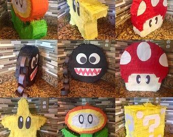 Super Mario Bros. Pinata's/Party Decorations