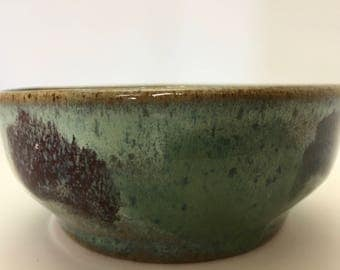 Modern Pottery Bowl Handmade Gift Free Shipping