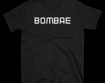 BOMBAE Hindi Desi phrase t-shirt