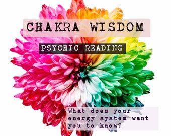 Chakra Wisdom psychic medium reading via email