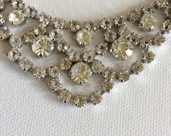 Fabulous vintage bridal necklace. Weddings. Bride. Bridesmaid.