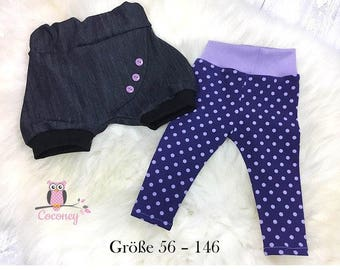 Shorts and leggings in the set children