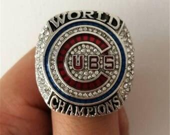 2016 Chicago Cubs World Series Ring, Ben Zobrist #18