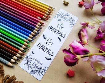 No mourners, no funerals bookmark