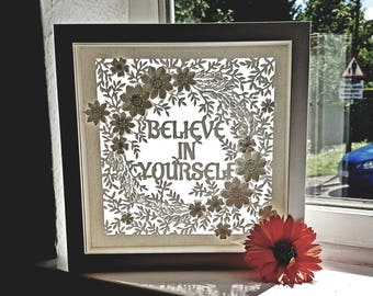 Quotable Paper Sun-Catcher Frames