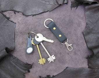 Leather Belt Clip Keychain. + GIFT (8)