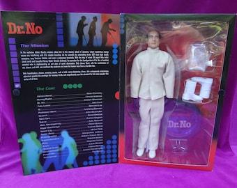 "Sideshow Dr. No New James Bond 007 12"" action figure mint factory sealed"