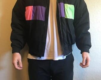 Retro Style Vintage ski jacket