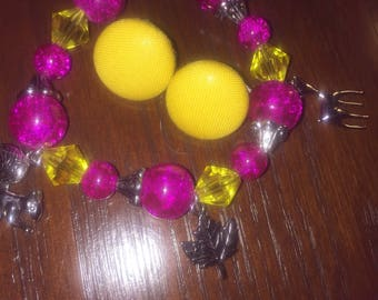 Pink & Yellow Daze