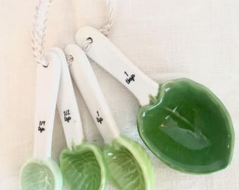 Leafy Measuring Spoons