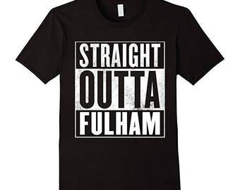 Fulham Shirt - Straight Outta Fulham T-Shirt