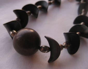Power Ball Metal  Statement Necklace