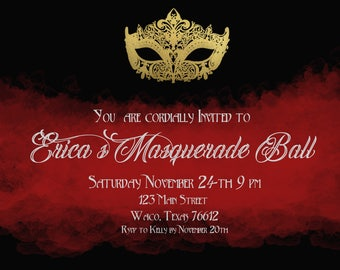 Gothic Party Invitation