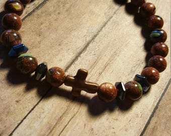 Men's Brown Bracelet