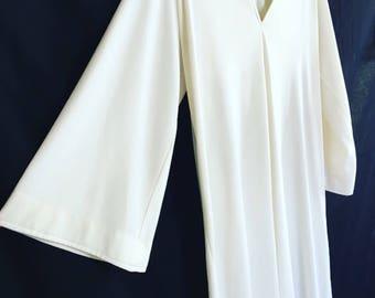 Iconic 70's Halston iv full length caftan maxi dress