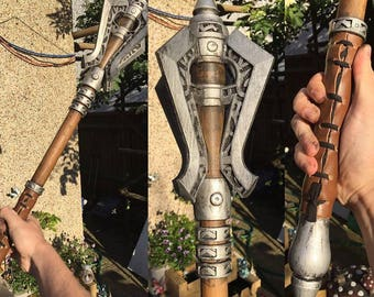 Skyrim Steel Mace Replica