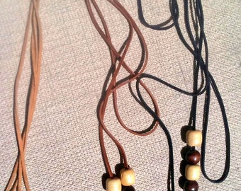 Faux Suede Wrap Around Choker