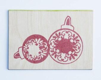 Ema Greetings Card - Christmas