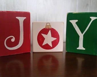 Joy Wood Blocks