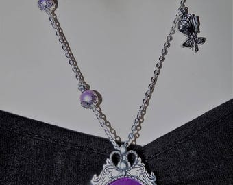 Gothic Victorian silver and Pearl