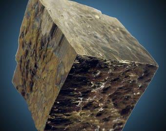 Pyrite; Ampliación a Victoria Mine, Navajún, La Rioja, Spain  --- minerals and crystals
