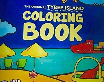 The Original Tybee Island Coloring Book